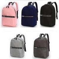 High Quality Women Nylon Backpack Teenage Girls Leisure Backpack Bag  Vintage Stylish Female School Bag Bookbag Free shipping 430bfd8c866bc
