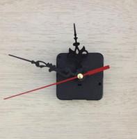 mecanismo de fuso do kit de movimento de relógio de quartzo venda por atacado-Quartz Clock Movement Kit Preto Relógio Acessórios Spindle Mechanism Repair com Mão Define Relógios Acessórios Home Supplies nt