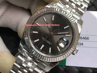 Wholesale president ii - 3 Color Best Quality EW Factory 41mm Datejust II 116334 President 316L Steel Swiss 3235S Movement Automatic Mens Watch Watches