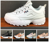 Wholesale open hooks - 2018 Disruptors 2.0 X Raf Simons Mens Women Thick soles white sneaker Big Sawtooth Ladies Thick Bottom height Increasing Shoes running shoes