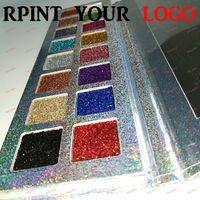 высококачественные блестящие тени для век оптовых-весь Blink палитра теней для век высокое качество 18 gliter цвет высокое качество, легко макияж блеск световой порошок