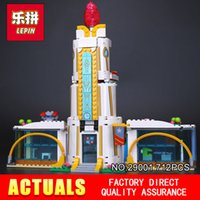 Wholesale high school toys - Lepin 29001 712Pcs Girl Series The Super Hero High School Set Children Educational Building Blocks Brick Toys Model Gift 41232