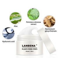 Wholesale nose pore treatment for sale - Group buy New Style LANBENA Blackhead Remover Nose Mask Pore Strip Black Mask Peeling Acne Treatment Black Deep Cleansing Skin Care Cleansers