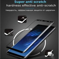 Wholesale Good Screen Protectors - For Samsung Galaxy S7 Edge S8 S9 Plus Note 8 Full Screen Protector, Tempered Glass, 3D H9 Very Good Quality