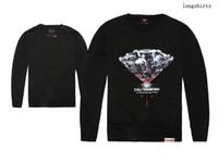 Wholesale Women Shirt Trend - Diamond Supply Long Sleeve T Shirts Tees Fashion Trend Men and Women Skateboard Outdoor Hip Hop Casual Sweatshirts free shipping