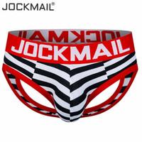 eşcinsel erkekler seksi iç çamaşırı toptan satış-Moda Marka Penis Cep Seksi Erkek Backless İç Jock Kayış Adam Thongs G-Dizeleri Eşcinsel Erkekler İç Külot Erkekler Jockstraps S1015