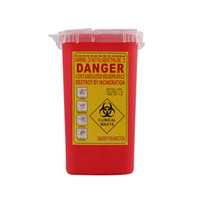 Professional Plastic Sharps Containers for Tattoo Artists Newest Tattoo Sharps Container Biohazard Needle Disposal FREE