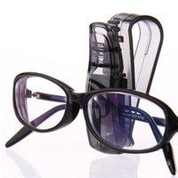 armações de óculos carro titular venda por atacado-Carro S Tipo de Óculos Clipe de Função Múltipla Titular do Cartão de visita Clip Holder Titular Clip Óculos de Armação de Alta Qualidade