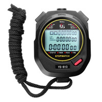 temporizador de funcionamiento al por mayor-Cronómetro cronómetro profesional digital Multifuction Deportes al aire libre portátiles que ejecutan el cronómetro de entrenamiento Cronógrafo Cronómetro