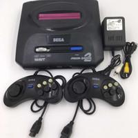 ingrosso dual console-Sega Genesis / MD compatto 2 in 1 console di gioco con doppio sistema / supporto per cartucce di memoria originali 2018 Nuovo