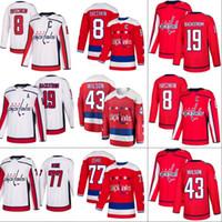 Discount hockey jerseys carlson - Washington Capitals Jersey 8 Alex Ovechkin 19 Nicklas Backstrom 43 Tom Wilson 70 Braden Holtby 74 John Carlson 77 T.J. Oshie Hockey Jerseys