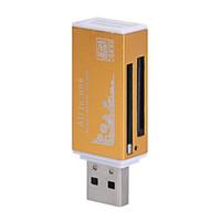 mmc kartenverkauf großhandel-Multi aller in 1 Micro USB 2.0 Speicherkartenleser Adapter für Micro SD SDHC TF M2 MMC MS PRO DUO Kartenleser Hot-Verkauf