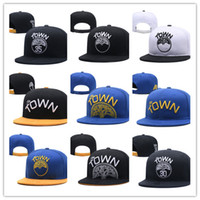 Wholesale Ball State Cap - Golden state Adjustable new warriors Snapback Hat Thousands Snap Back Hat For Men Basketball Cap Cheap Hat Adjustable men women Baseball Cap