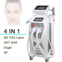 Wholesale multi function machine - 3000w LASER Large Frequuency IPL+RF+Elight+tattoo removal laser multi-function pigmentation removal e light laser hair removal machine