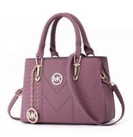 Wholesale organic brands online - 2018 Brand High quality luxury women handbag zipper Fashion PU leather ladie crossbody bag Ladies luxury bags Woman s desginer handbags A002