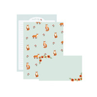 Wholesale kawaii letter sets - 1 Set Cute Animal Paper Envelopes Letter Pad Sets Kawaii Writing Paper Letter Office and School Supplie Creative Gifts