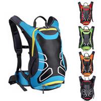 New Breathable Motorcycle Backpack Waterproof Nylon Motorbike Bag Reflective Safety Backpack Helmet Bag Riding Shoulder Bag