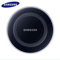Wholesale qi wireless charger pad black - Samsung Charge Qi Wireless Pad 5V-2A For Samsung Galaxy S6 S7 Edge S8 plus Note8 Note5 Black and white
