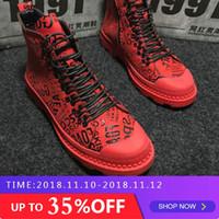 Neueste Männer Hohe Schuhe Marke Mens Hip Hop camouflage