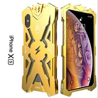 Wholesale thor metal phone case for sale - SIMON THOR Metal Bumper Shockproof Case Slim Cover High Quality Aviation Aluminum Phone Case For iPhone X XS XR XS MAX