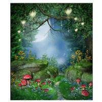 décors de fées achat en gros de-5x7ft conte de fées vinyle studio toile de fond photographie prop photo fond