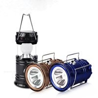 Wholesale Lights For Camper - Solar Powered LED Camping Light Backpacking Lantern Emergency Lamp for Camper Hiking Tent Hand Camping Light Outdoor LED
