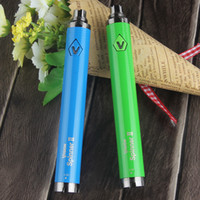 Wholesale ego e cig twist - Vision II Spinner 2 eGo C Twist Variable Voltage 1650 mAh eCig Vapes Pens Batteries for 510 E Cig Vaporizer Tank