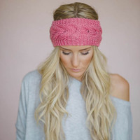 Wholesale women chic hats for sale - Group buy Knit Men Women Baggy Beanie Winter Hat Ski Slouchy Chic Cap Skull Sports hair band colors