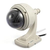 cámara wifi ip66 al por mayor-HW0038 Plug Play Inalámbrico WiFi HD 720P IP CaPan / Tilt Gire IR Cut IP66 Cámara de CCTV de visión nocturna a prueba de agua al aire libre a prueba de agua