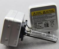 xenon hidrolik balast değiştirildi toptan satış-35 W OEM D3S HID Xenon Ampuller 3800LM araba Yedek Ampuller için otomatik far HID dönüşüm kiti hid balast D3R D3C ücretsiz kargo