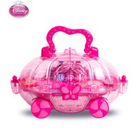 Discount play sets - Princess Child Makeup Set Girl Performance Cosmetics House Eyeshadow Makeup Car Toy pretend play cosmetic set for kid