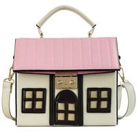 mädchen rosa geldbörse großhandel-Celebrity Lady Handtasche rosa Beige Luxus Handtaschen Frauen Taschen Designer 2018 neue einzigartige Lolita Neuheit Mädchen Handtasche Lock Geldbörsen