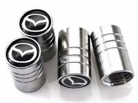 accessoires cx achat en gros de-Auto Auto Wheel Wheel Valves Pneumatique Stem Air Caps Couvertures De Voiture Emblèmes pour Mazda 3 6 cx-5 2 Accessoires De Voiture Styling