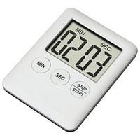 temporizador de cocina portátil al por mayor-Temporizador electrónico de cocina ultrafino Moderno Elegante Dispositivo de Recordatorio Portátil Alarma de Cocina Magnética Suministros de Cocina 4 59wm Ww