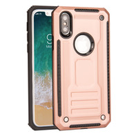 Wholesale armor series iphone - Phantom Series Armor Hybrid Phone Case Shockproof Protective Cover For iPhone x 8 7 6s 6 Plus Samsung S9 S8 plus Huawei P10 Plus Opp