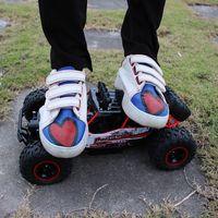 coches con motor rc al por mayor-1:12 o 1:16 Coches 4WD Shaft Drive RC Trucks Radio Control de alta velocidad sin escobillas Camiones de aleación Escala Super Power Toys para niños para niños