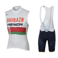 Wholesale lampre team clothes online - 2018 New Summer Short Sleeve Cycling Jersey Quick Dry Team Bahrain Lampre MERIDA Ropa Ciclismo Quick Dry bicycle Clothing Bike Clothes C2901