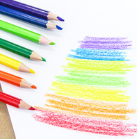 Wholesale art crayons - Factory Free Shipping Pen  Colorful Pencil  Wax Crayon and Oil Painting Brush Children Drawing Tool Set Art Drawing Toys 1 Pc Wholesale