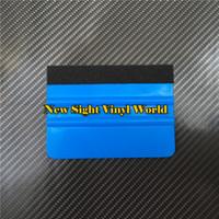 gelbe gläser karikatur großhandel-100 teile / los Auto Vinyl Film Verpackung Werkzeuge Weichen Rakel Schaber Filz Rakel Anwendung Werkzeuge