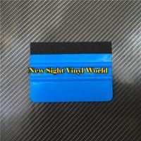 farbfolie großhandel-100 teile / los Auto Vinyl Film Verpackung Werkzeuge Weichen Rakel Schaber Filz Rakel Anwendung Werkzeuge