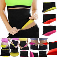 Wholesale weight loss body belt for sale - Group buy For Women Body Shaper Slimming Shapers Slimming Belt Waist for Weight Loss Yoga Sport Belts fitness waist trainer DHL