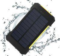 Wholesale bateria power bank resale online - 8 Photos Find Similar Solar Power Bank Dual USB Power Bank with LED light Real mAh waterproof powerbank bateria external Portable