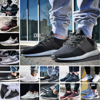 Wholesale Hot Dog Shoes - Hot New Ultra Boots 2.0 3.0 4.0 UltraBoots mens running shoes sneaker women designer Sport UB CNY Dog Snowflake Core Triple Black All White