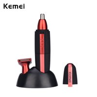 Wholesale waterproof nose ear hair trimmer for sale - Group buy hair men Fashion Electric Shaving Nose Hair Men Safe Face Care Ear Eyebrow Shaving Clipper Waterproof Nose Cutter Beard Trimmer