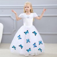2018 New Fashion Cute Girls Petticoats per bambini Gonna Puffy Princess Girls Dress Kids Party Fancy vestiti Abito da principessa di alta qualità