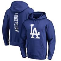 Wholesale Los Dodgers - 2017 Los Dodger Hoodies 35 Cody Bellinger 22 Clayton Kershaw 5 Corey Seager 26 Chase Utley Sweatshirts