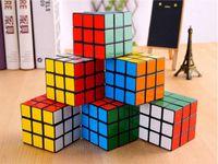 Wholesale cheap kids toys online - Cheap MOQ CM x3x3 Magic Cube Ultra smooth Professional Speed Cube Rubik Puzzle Twist Kids Gift A427584