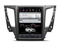Wholesale mitsubishi car dvd player - 12.1'' vertical Screen Tesla Style Android Car DVD GPS Navigation Player for MITSUBISHI PAJERO Sport L200 2016 2017 2018