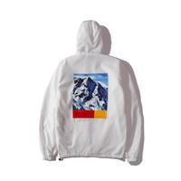 ropa de nieve al por mayor-2018 New Snow Mountain Chaqueta con capucha Chaqueta de diseñador de lujo para hombre con el norte 2 letras de la marca Tops con capucha New Male Clothing M-XXL