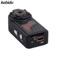 mikrokamera dvr bewegung großhandel-Kebidu 2017 Mini Kamera Nachtsicht DV DVR Mini Cam Micro Kamera Webcam Camcorder QQ6 Full HD 1080 P DV Bewegungsmelder IR